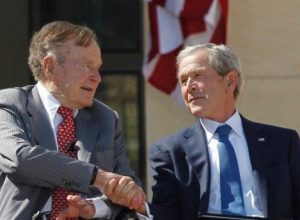 The Bushes go after Trump