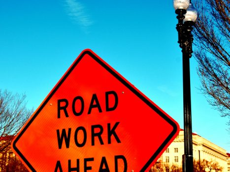 """Road Works Ahead""by Glyn Lowe Photoworks is licensed under CC BY 2.0"