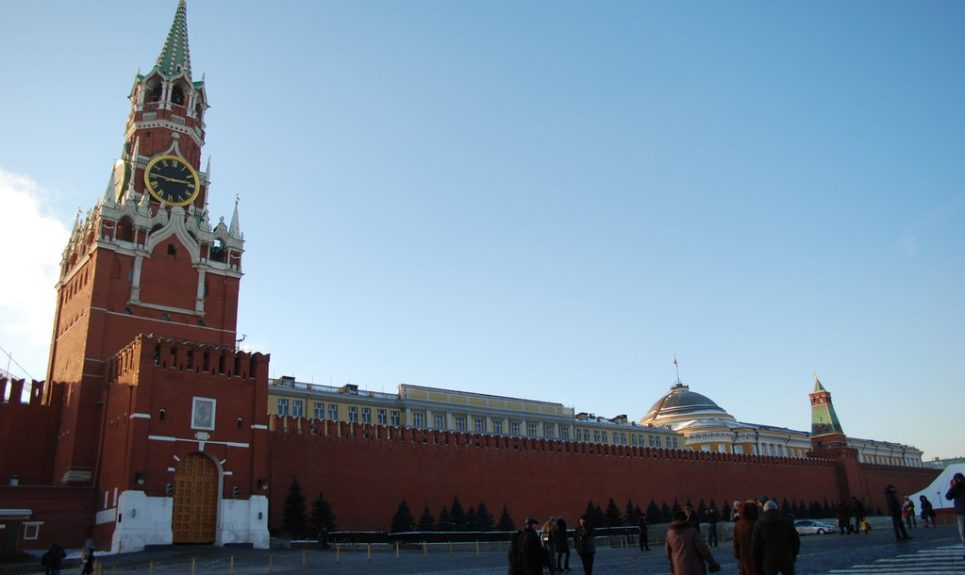 """Moscow Kremlin"" by George M. Groutas is licensed under CC BY 2.0"